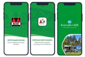 ACSI bietet bereits digitalen Camping-Content in Form von Apps. (Foto: ACSI)