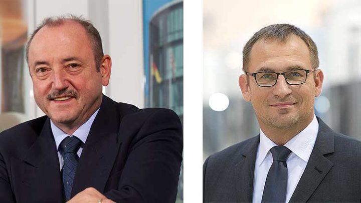 Der ausgeschiedene Geschäftsführer Michael Striewski (links) und Geschäftsführer Holger Schulz (rechts). (Foto: Werk)