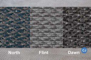 Die Teppiche sind als North, Flint & Dawn erhältlich.