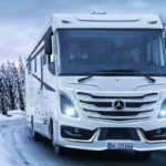 Le Voyageur mit neuem Liner auf Mercedes Atego