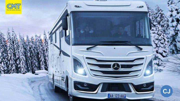 Le Voyageurs neues Spitzenmodell kommt auf Mercedes-Benz. (Foto: Werk)