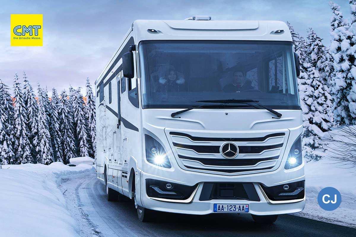 Le Voyageur Mit Neuem Liner Auf Mercedes Atego Camper Journal