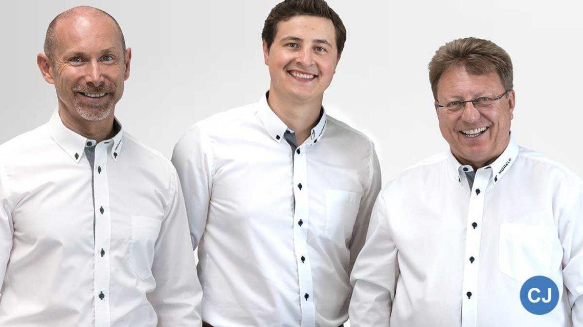 V.l.n.r.: Jochen Reimann, Robert Crispens, Reinhard Löhner. (Foto: Morelo)