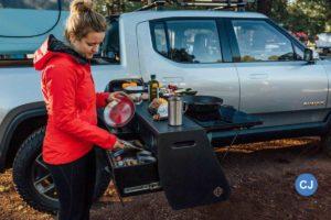 Die Nutzung als Basis für Camping-Aufbauten ist bereits mit eingeplant.