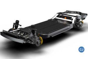 """Die """"Skateboard-Architektur"""" von Rivian ist die Basis für weitere Fahrzeuge mit E-Antrieb."""