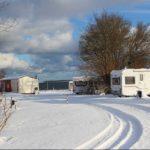 Zum Wintercamping an die Ostseeküste