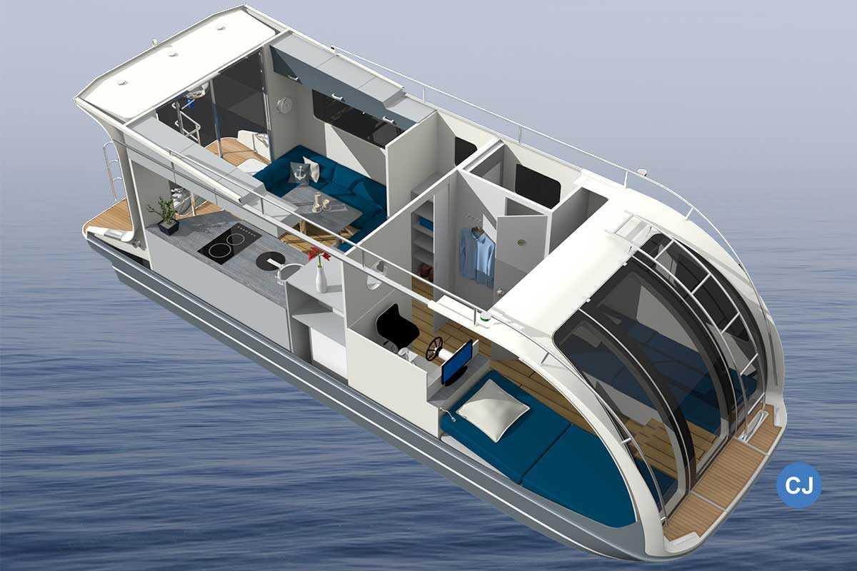 Caravanboat Tchibo