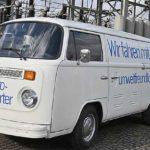 Zurück in die Zukunft: VW Bulli T2 mit E-Antrieb