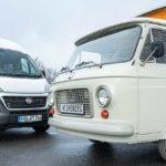 50 Jahre Weinsberg: Campingbus auf Fiat 238