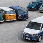Legende über sechs Generationen und sieben Jahrzehnte: VW Bus und Transporter