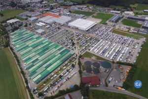 Das Werksgelände in Isny. (Foto: Dethleffs)