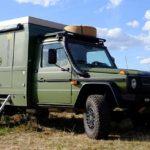 Auf-G-setzter: Mercedes-Benz G 290 Professional mit Langer & Bock Wohnkabine