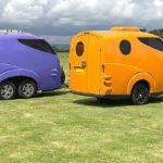 Tripbuddy - der bunte ultraleichte Wohnwagen