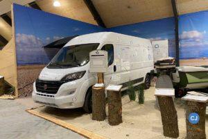 Bei dem ausgestellten Hobby VANTANA - ohne Innenausbau - können die Besucher kreativ werden und ihren eigenen Traumcamper gestalten.